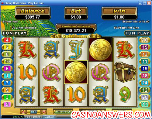 goldbeard video slot
