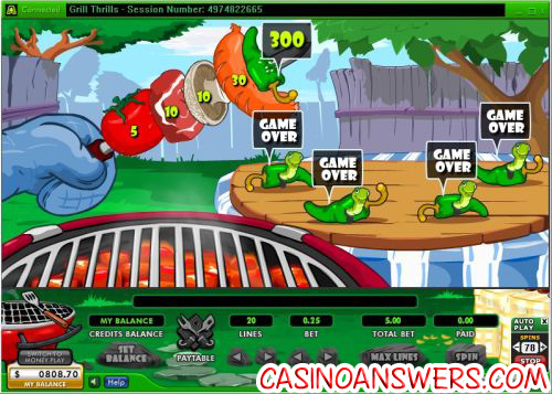 grill thrills bonus casino game