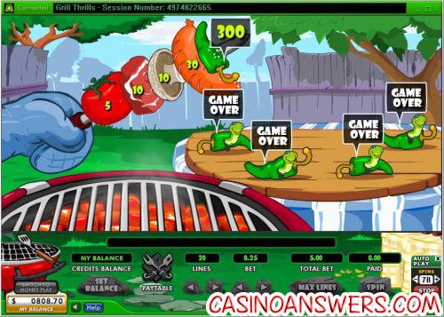 grill thrills bonus casino game