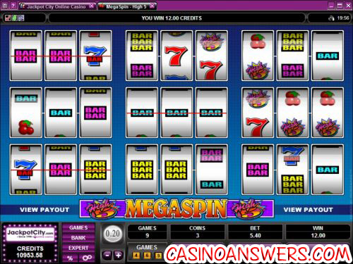 high 5 megaspin slot 1