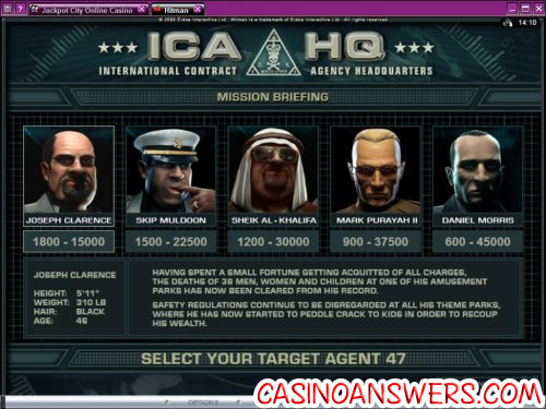 hitman video slot 2