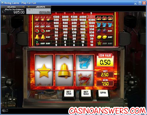 hot 7s progressive jackpot slot