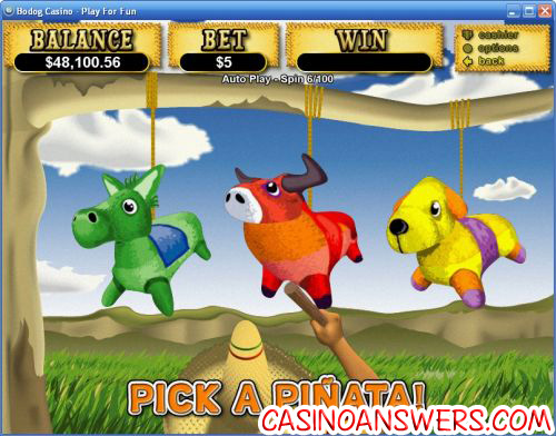 jackpot pinatas bonus game slot machine