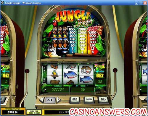 jungle boogie classic slot