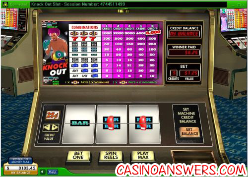 knockout classic slot machine