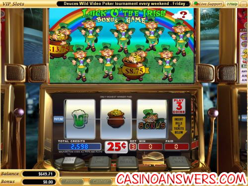 luck o the irish classic slot