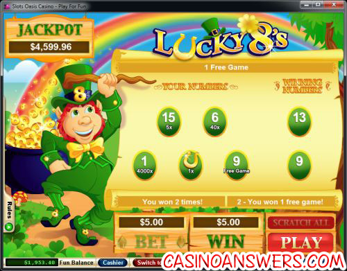 lucky 8 scratch card review 2