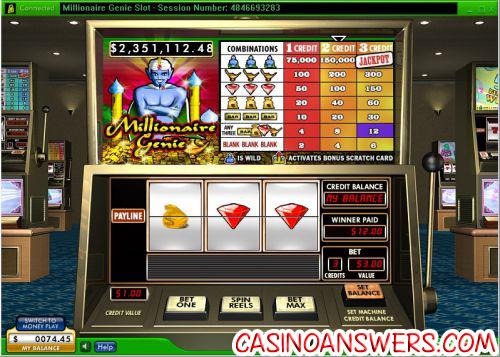 millionaire genie progressive jackpot slot 1