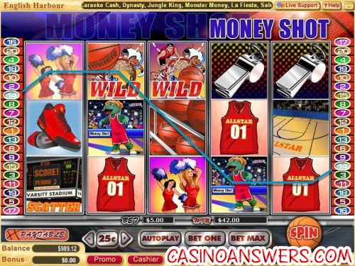 money shot video slot 1