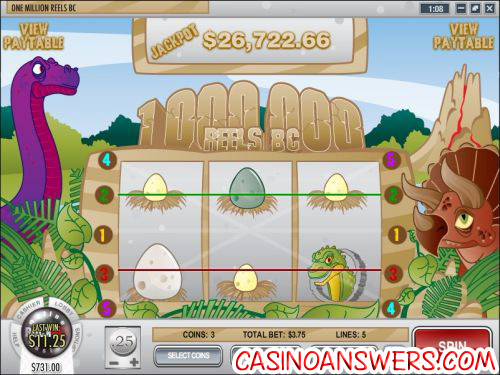 one million reels bs progressive jackpot 1