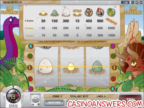 one million reels progressive jackpot slot 2