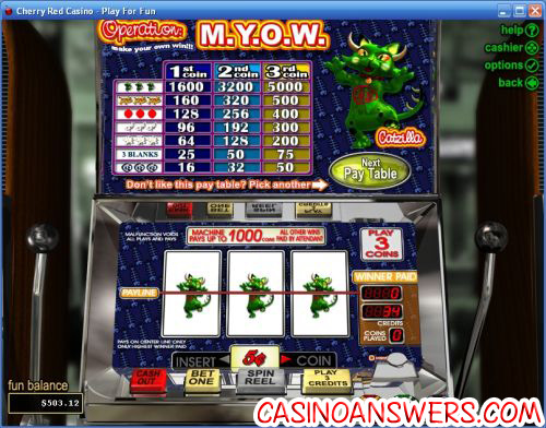 operation myow classic slot