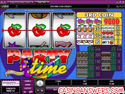 party time classic slot