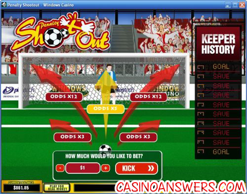 penalty shootout arcade game 1