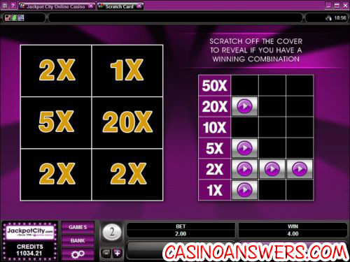 scratch card microgaming 2