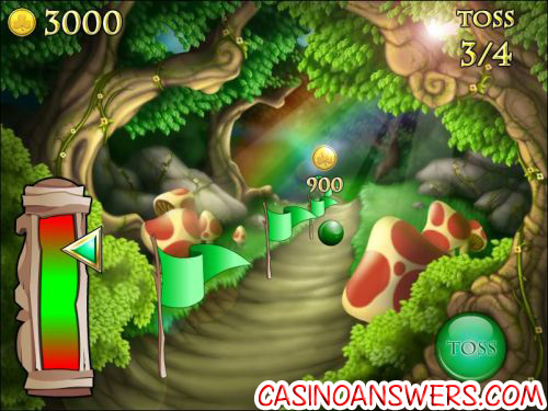 shamrock isle casino bonus game