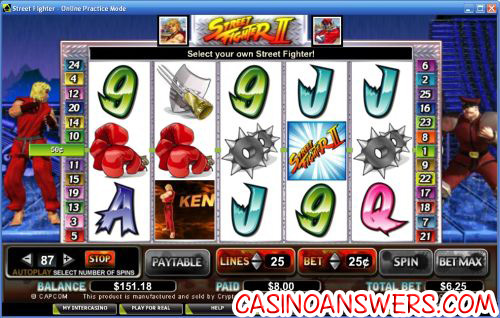 street fighter video slot machine 1