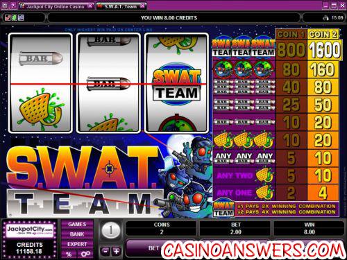 swat team slot game