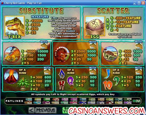 t-red slot bonus game