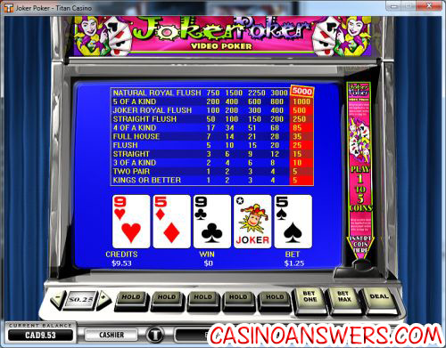 titan casino video poker blog