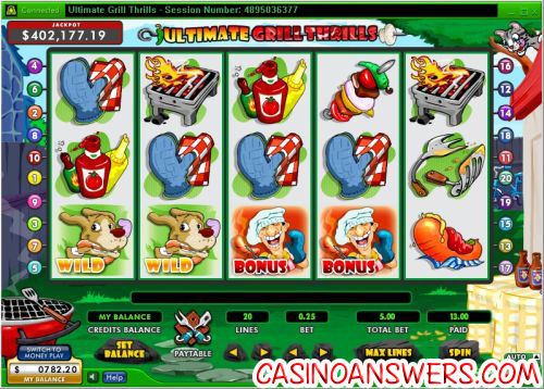 ultimate grill thrills slot machine