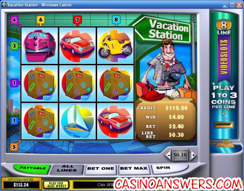 vacation station playtech video slot