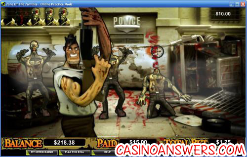 zone of the zombies video slot 2