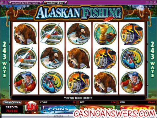 alaskan fishing video slot
