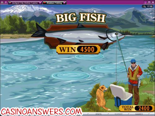 alaskan fishing bonus game
