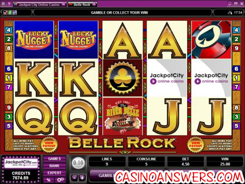 bell rock exclusive video slot