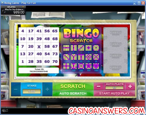 Play Beetle Bingo Scratch Cards at Casino.com