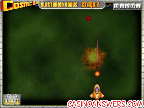 cosmic quest islot bonus game