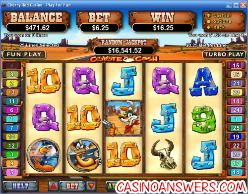 coyote cash video slot