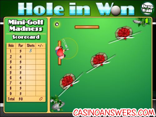 hole in won interactive slot