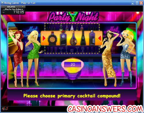 party night ctxm bonus game