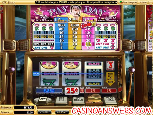 pay day vegas classic slot