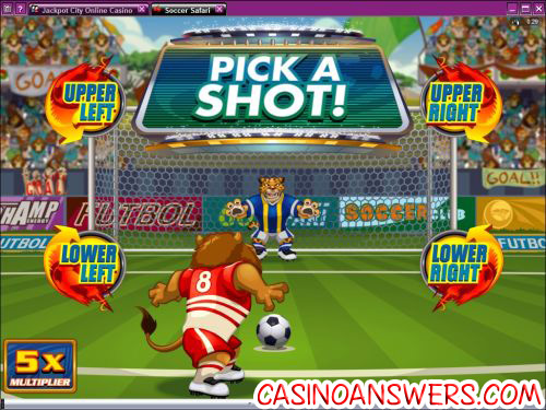 soccer safari penalty shot bonus game