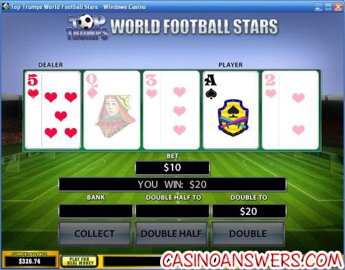 top trumps casino bonus game