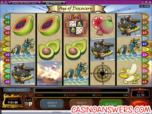 age of discovery video slot