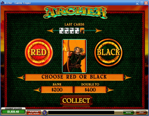 robin hood slot machine bonus game