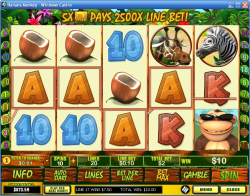 banana monkey video slot