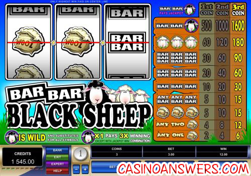 bar bar black sleep fruit machine
