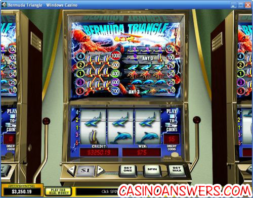 bermuda triangle video slot