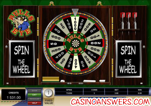 bulls eye fruit machine microgaming