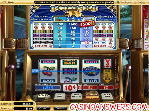 double gold classic slot