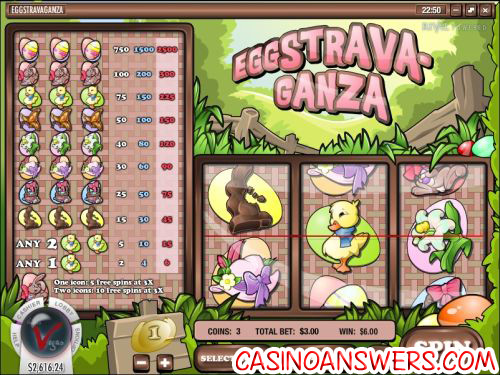 eggstravaganza classic slot machine
