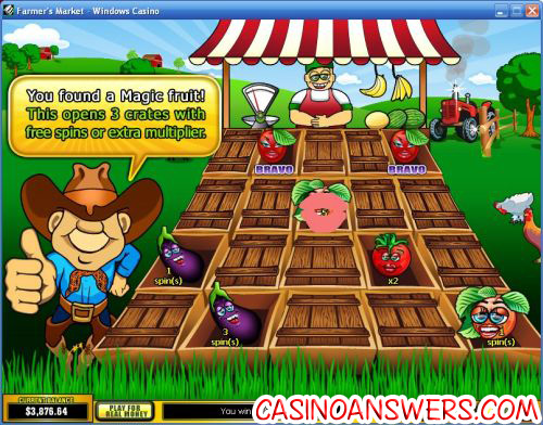 farmers market bonus game