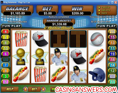golden glove rtg video slot