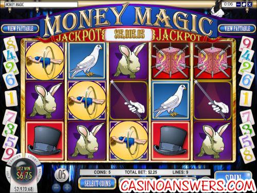 money magic progressive jackpot