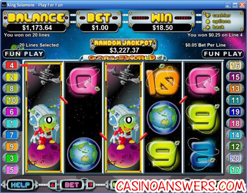 outta this world rtg video slot